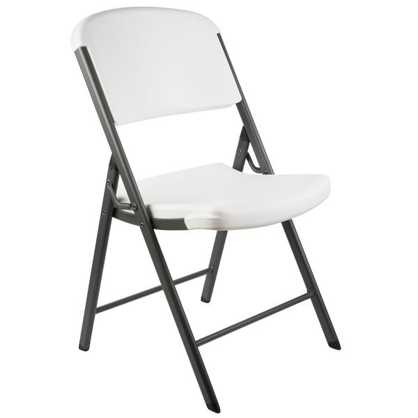 Surprising Lifetime 2802 White Contoured Folding Chair Ocoug Best Dining Table And Chair Ideas Images Ocougorg