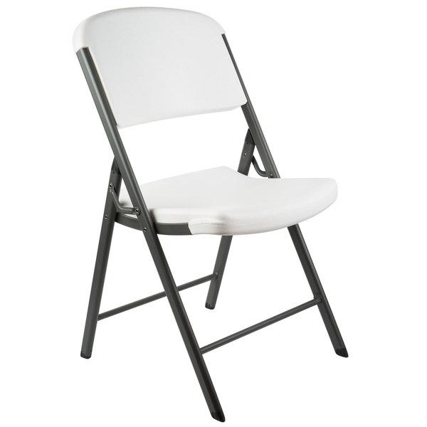 Groovy Lifetime 2802 White Contoured Folding Chair Creativecarmelina Interior Chair Design Creativecarmelinacom