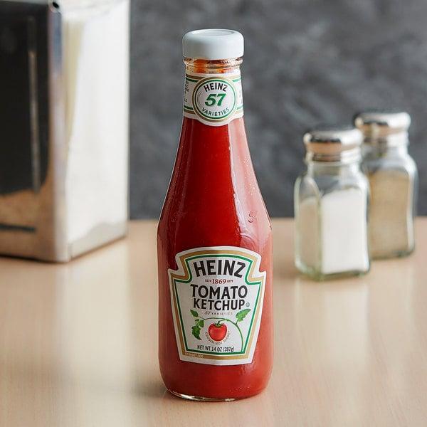 Heinz Ketchup 14 oz. Bottle Main Image 2