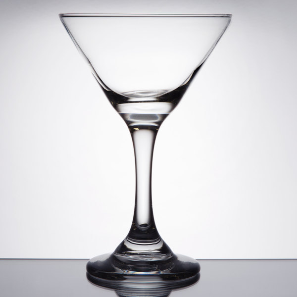boasting an artisan crafted look and clarity this 925 oz cocktail martini glass will elegantly display your finest cocktails - Stemless Martini Glasses