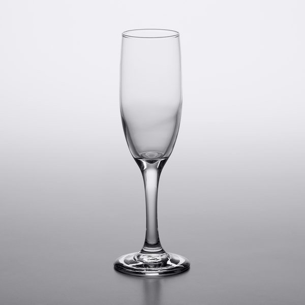 Acopa 6.25 oz. Flute Glass - 12/Case