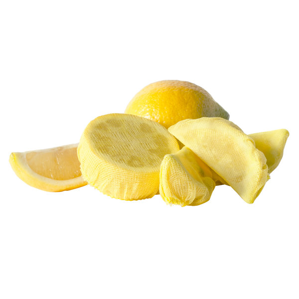 f5bb3ca2897e1 Royal Paper RLWB25 Yellow Lemon Wedge Bag - 100/Pack