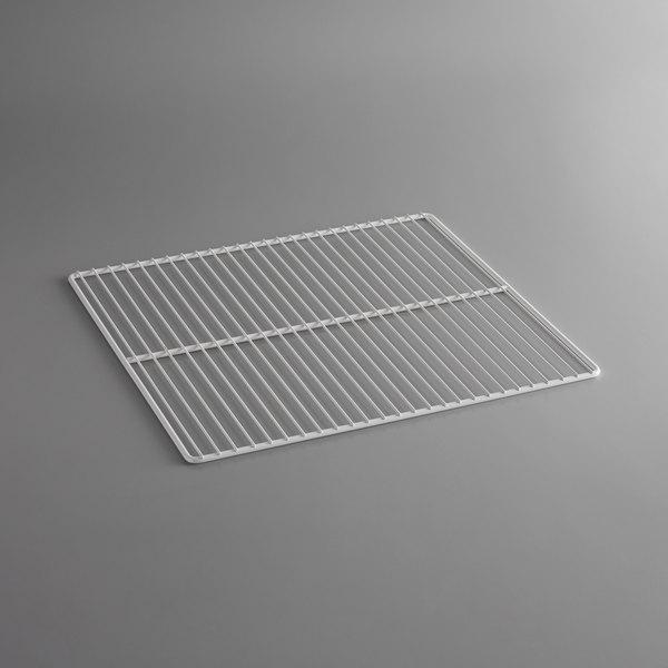 "All Points 26-2651 White Epoxy Coated Wire Shelf - 23"" x 20"" Main Image 1"