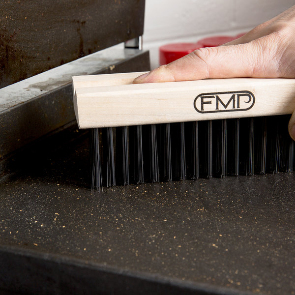 "FMP 133-1175 7 1/4"" Medium Bristle Grill / Broiler Cleaning Brush Head"