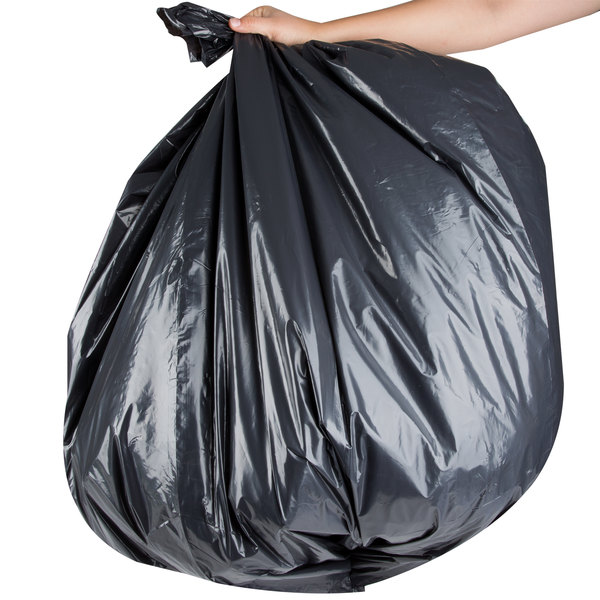 """Berry AEP 404648G 45 Gallon 1.9 Mil 40"""" x 46"""" Low Density Can Liner / Trash Bag - 100/Case"""