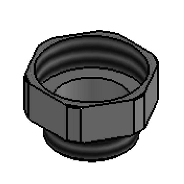 T&S B-3945 Rotary Waste Valve Adapter Main Image 1