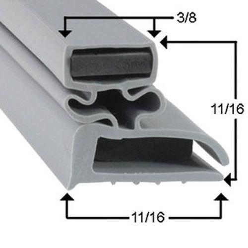 Delfield 1702110 Equivalent Magnetic Door Gasket 24 9 16