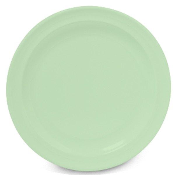 """GET DP-510-G Green 10 1/4"""" SuperMel Plate - 24/Case"""