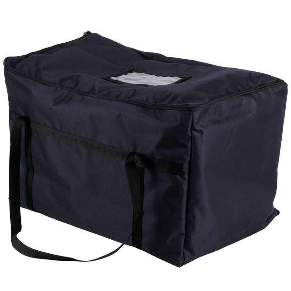 """Insulated Food Carrier, Blue Nylon, 22"""" x 12"""" x 12"""""""