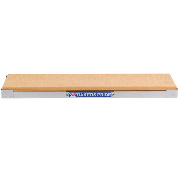 Bakers Pride CH-14 Radiant Charbroiler Stainless Steel Plate Shelf with Richlite Work Deck Main Image 1