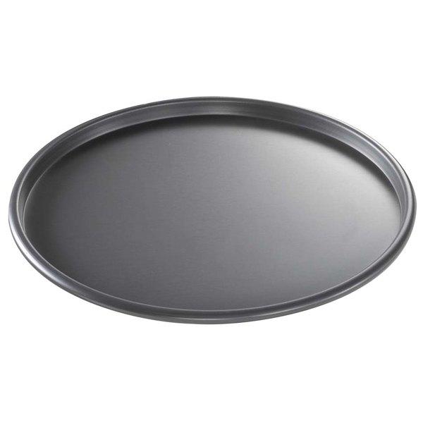 "Chicago Metallic 49103 BAKALON Pre-Seasoned Aluminum Customizable Pizza Pan - 10"" x 1/2"""