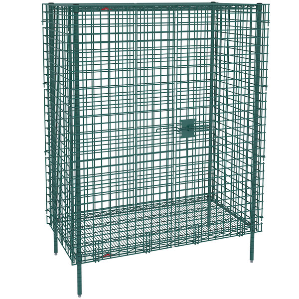 "Metro SEC53K3 Metroseal 3 Stationary Wire Security Cabinet 38 1/2"" x 27 1/4"" x 66 13/16"""