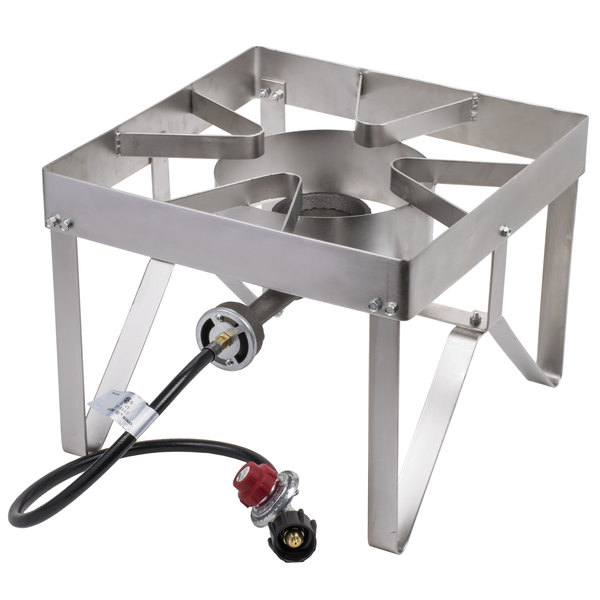 Backyard Pro Stainless Steel Single Burner Outdoor Patio Stove / Range    55,000 BTU