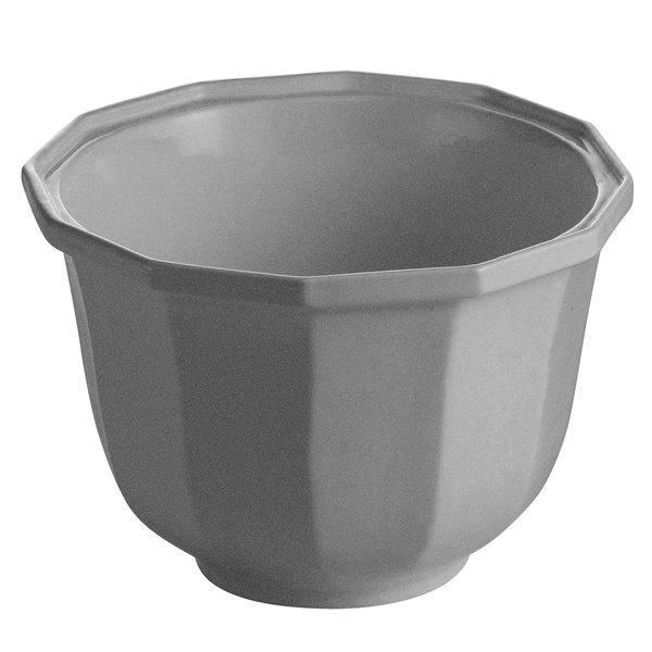Tablecraft CW1792GR 3.25 Qt. Granite Cast Aluminum Round Prism Bowl