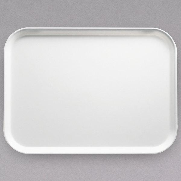 cambro 46148 4 1 4 x 6 rectangular white customizable fiberglass