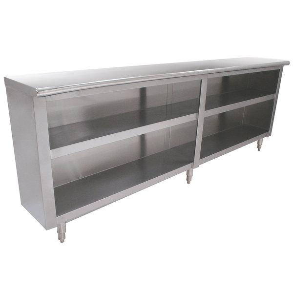 "Advance Tabco DC-1812 Dish Cabinet 144"" x 18"""