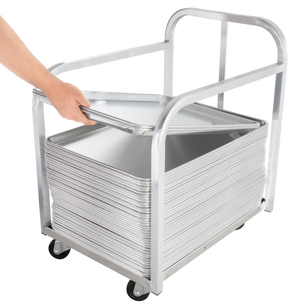 Advance Tabco PD-1 Bun Pan Transport Truck with Handle