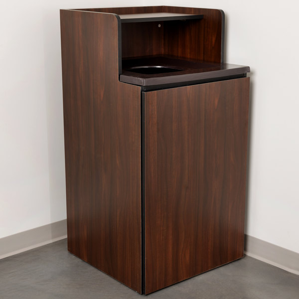 32 Gallon Waste Receptacle Enclosure with Tray Shelf