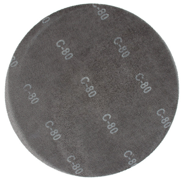 "Scrubble by ACS 32100 17"" Sand Screen Disc with 80 Grit - 10/Case Main Image 1"