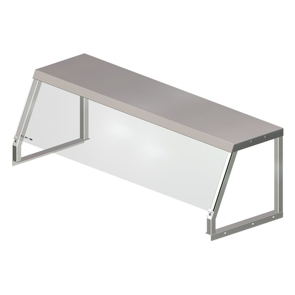 APW Wyott 32010502 Serving Shelf with Acrylic Shield for Exposed 3 Well Workline Series Steam Tables