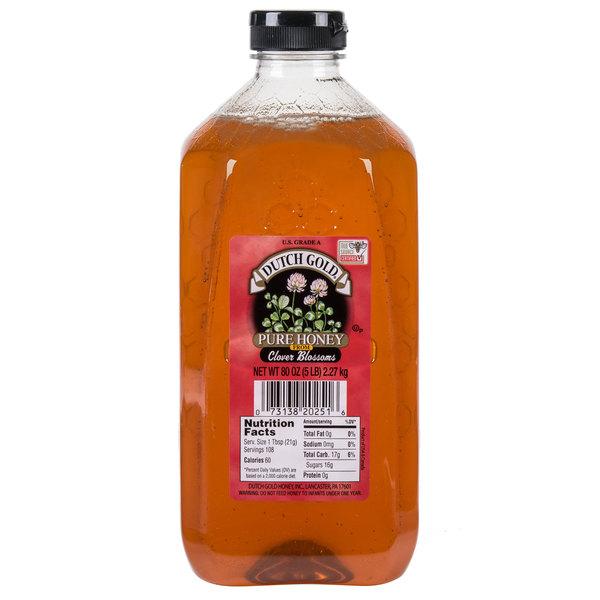 Dutch Gold 5 lb. Clover Honey