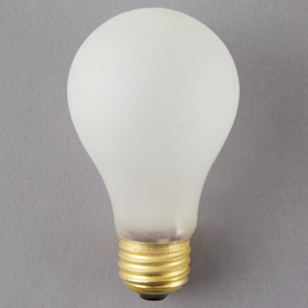 """4"""" x 2 3/8"""" 100 Watt Shatterproof Light Bulb - 120V"""
