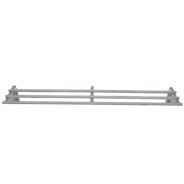 APW Wyott 32010156 Three Bar Tray Slide for Exposed 5 Well Workline Series Steam Tables Main Image 1