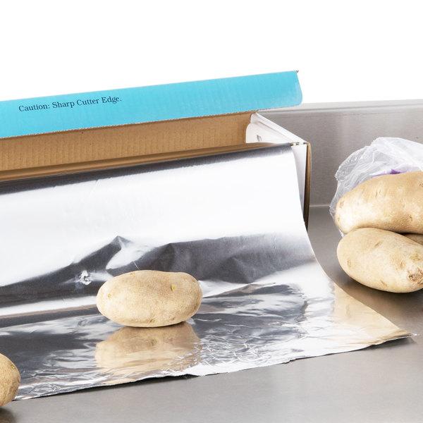 "Choice 18"" x 500' Food Service Standard Aluminum Foil Roll"