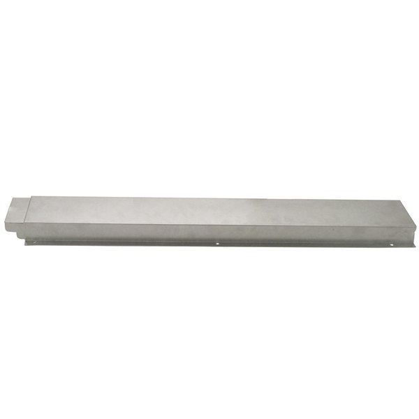 APW Wyott 32010523 Solid Stainless Steel Flat Tray Slide for Exposed 4 Well Workline Series Steam Tables Main Image 1