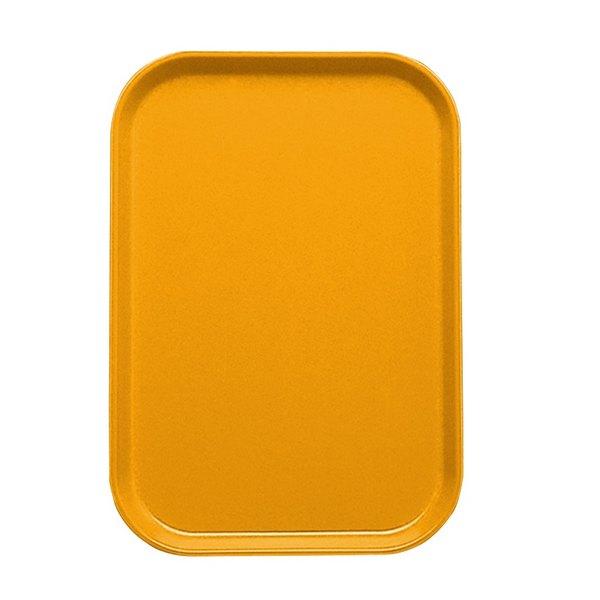 "Cambro 1015504 10 1/8"" x 15"" Mustard Customizable Insert for 1520 Fiberglass Camtray - 24/Case"