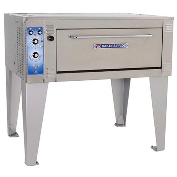 "Bakers Pride EB-1-8-3836 55"" Single Deck Electric Bake Oven - 220-240V, 3 Phase"