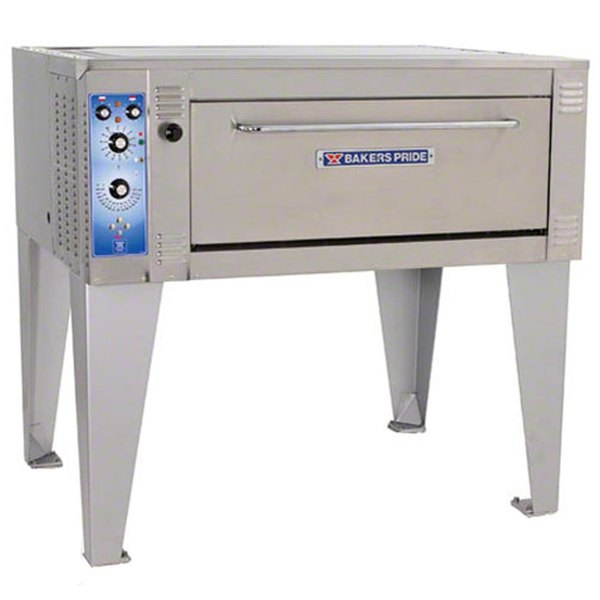 """Bakers Pride EB-1-8-3836 55"""" Single Deck Electric Bake Oven - 208V, 1 Phase"""