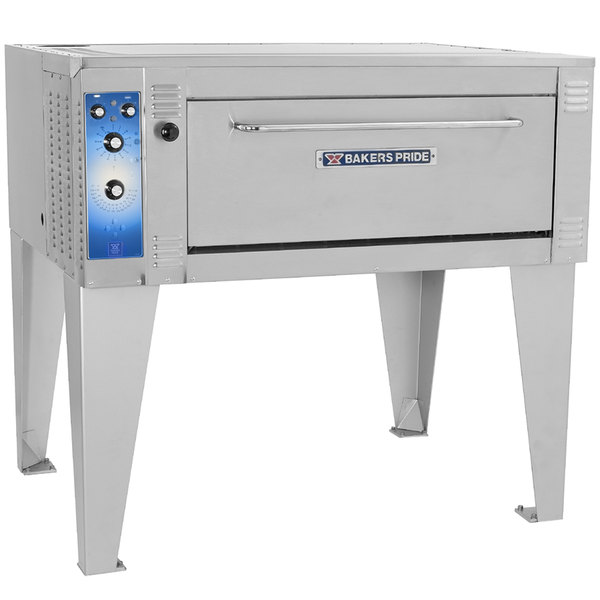 """Bakers Pride EP-1-8-3836 55"""" Single Deck Electric Pizza Oven - 220-240V, 1 Phase"""