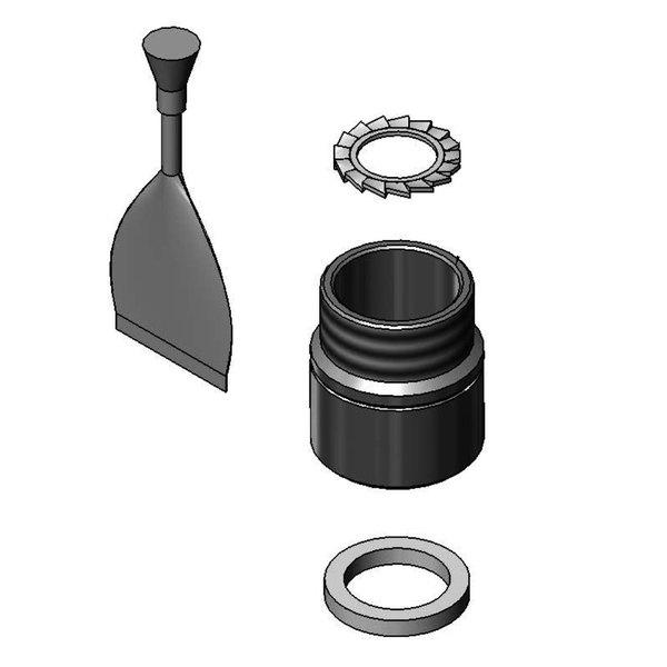 EZ-SWIVEL-FM Rigid Adapter for Fisher Faucet Swivel Goosenecks and ...