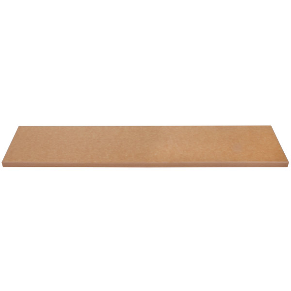 "APW Wyott 32010646 Equivalent 44 5/8"" x 7 1/2"" Richlite Cutting Board for Sealed 3 Well Champion Series Steam Tables Main Image 1"