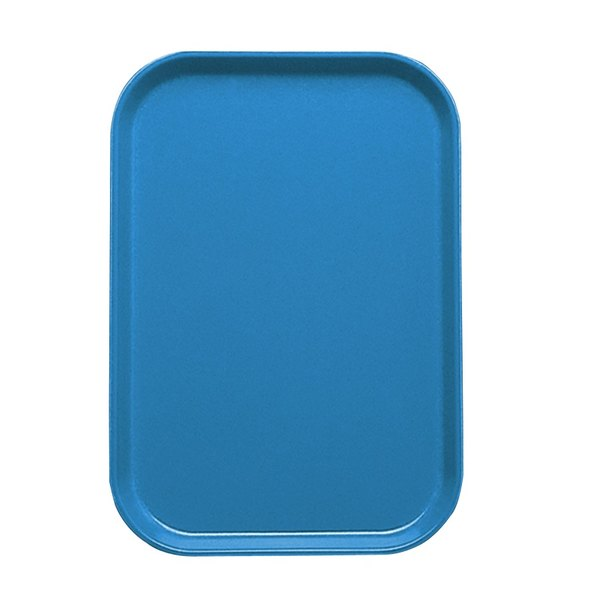 "Cambro 1116105 10 7/8"" x 15 7/8"" Horizon Blue Customizable Insert for 1622 Fiberglass Camtray - 24/Case"