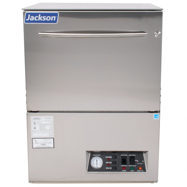 Jackson Avenger LT Low Temperature Undercounter Dishwasher- Chemical Sanitizing