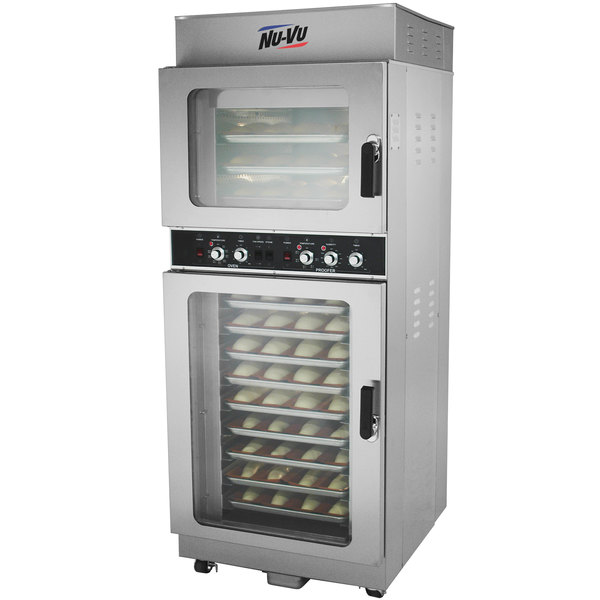 NU-VU OP-3/9M Double Deck Electric Oven Proofer Combo - 208V, 3 Phase, 5.2 kW