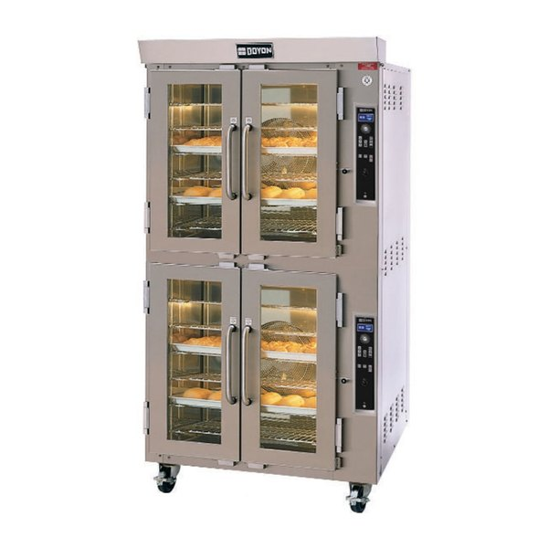 Doyon JA12SL Jet Air Double Deck Side Load Electric Bakery Convection Oven - 240V, 21.5 kW