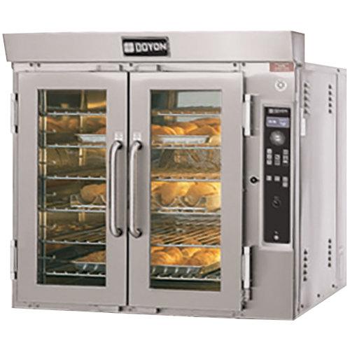 Doyon JA6G Jet Air Liquid Propane Single Deck Bakery Convection Oven - 65,000 BTU