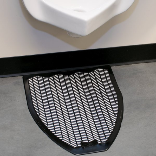20 Quot X 18 Quot Black Disposable Urinal Mat Imp 1525 5 6 Case
