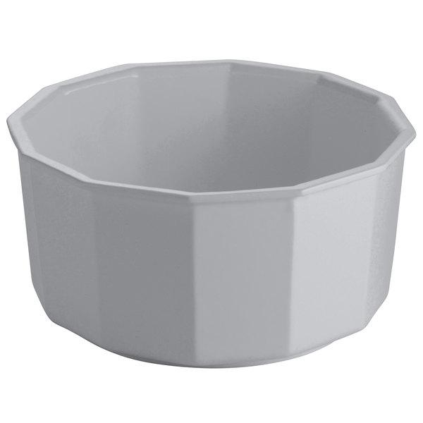 Tablecraft CW1800N 4.5 Qt. Natural Cast Aluminum Prism Bowl