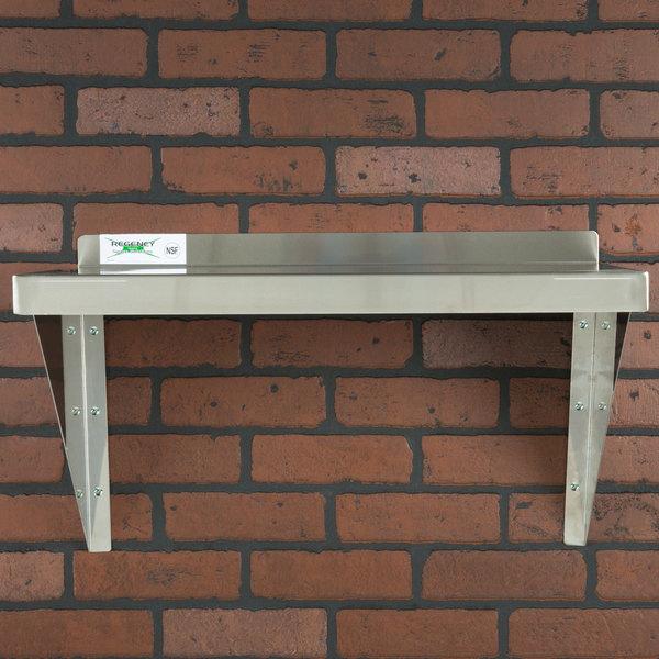 Regency 16 Gauge Stainless Steel 18 X 24 Heavy Duty Wall Shelf