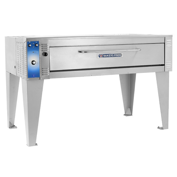 """Bakers Pride EB-2-8-5736 74"""" Double Deck Electric Bake Oven - 220-240V, 1 Phase"""