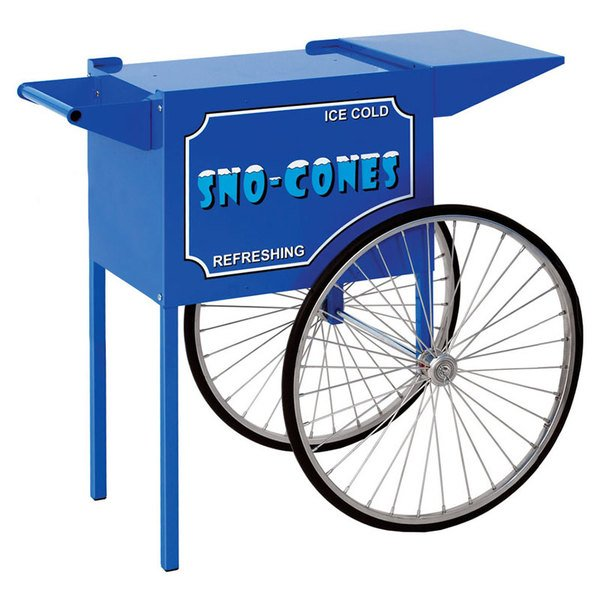 """Paragon 3050010 Medium Snow Cone Cart for """"1911 Sno Storm"""" and """"Blizzard"""" Machines"""