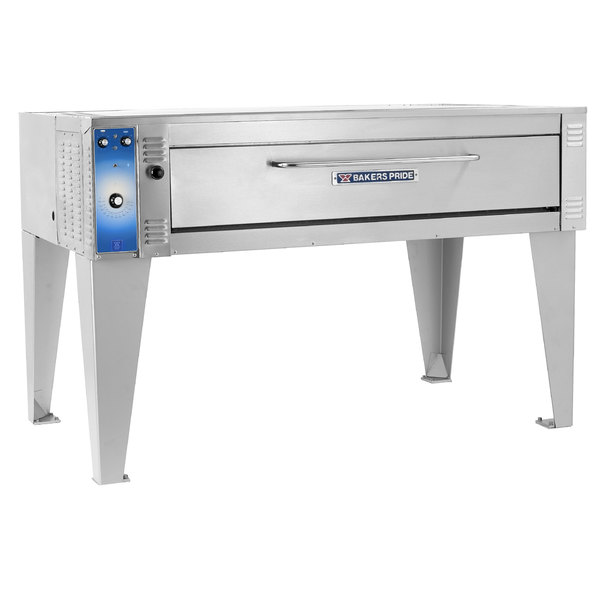 """Bakers Pride EP-2-8-5736 74"""" Double Deck Electric Pizza Oven - 220-240V, 1 Phase"""
