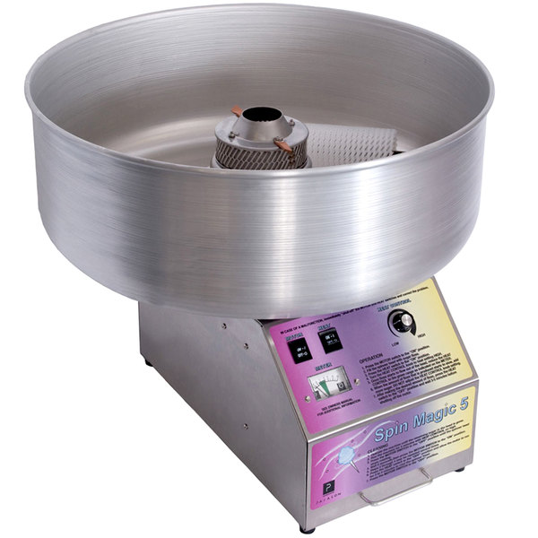 Paragon 7105200 Spin Magic 5 Cotton Candy Machine with 26 ...