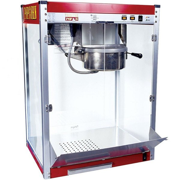 Paragon 1116110 Commercial 16 oz. Theater Popcorn Machine - 2790W