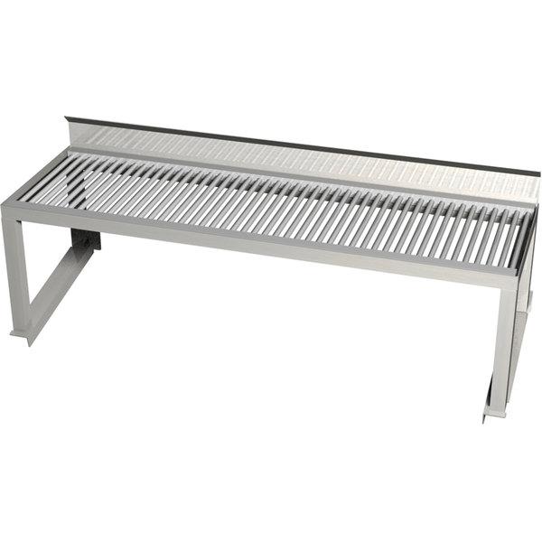 Grill side shelf