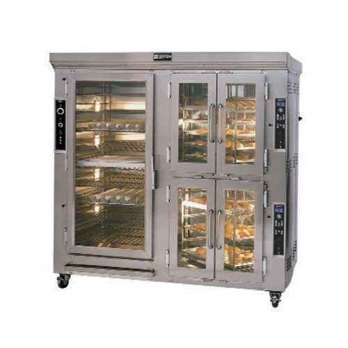 Doyon CAOP12 Two Section Circle Air Electric Oven Proofer Combo with Rotating Racks - 240V, 29.7 kW